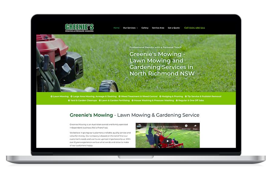 Greenie's Mowing